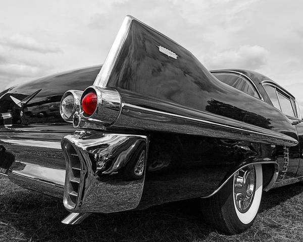 Photograph - Cadillac Coupe De Ville 1957 Tail Fin by Gill Billington