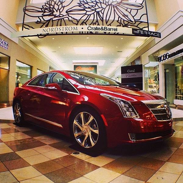 Cadillac Photograph - Cadillac Elr At The Town Center Mall In by Daniel Piraino