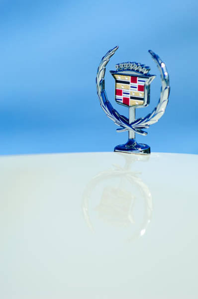 Vintage Hood Ornaments Photograph - Cadillac Hood Ornament 4 by Jill Reger