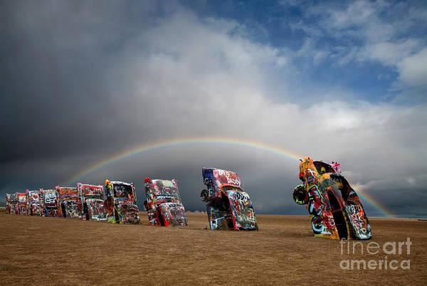 Cadillac Photograph - Cadillac Ranch by Keith Kapple