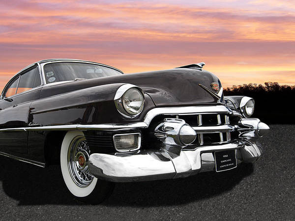 Photograph - Cadillac Sunset by Gill Billington