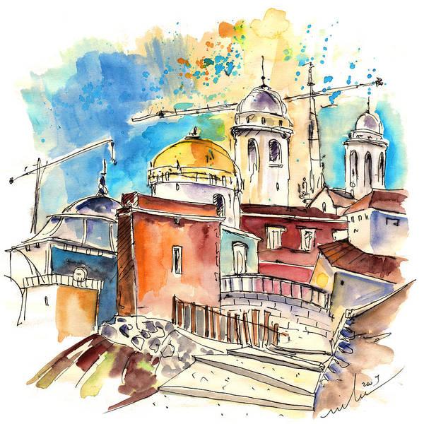 Wall Art - Painting - Cadiz Spain 02 by Miki De Goodaboom