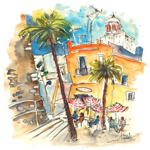 Wall Art - Painting - Cadiz Spain 04 by Miki De Goodaboom