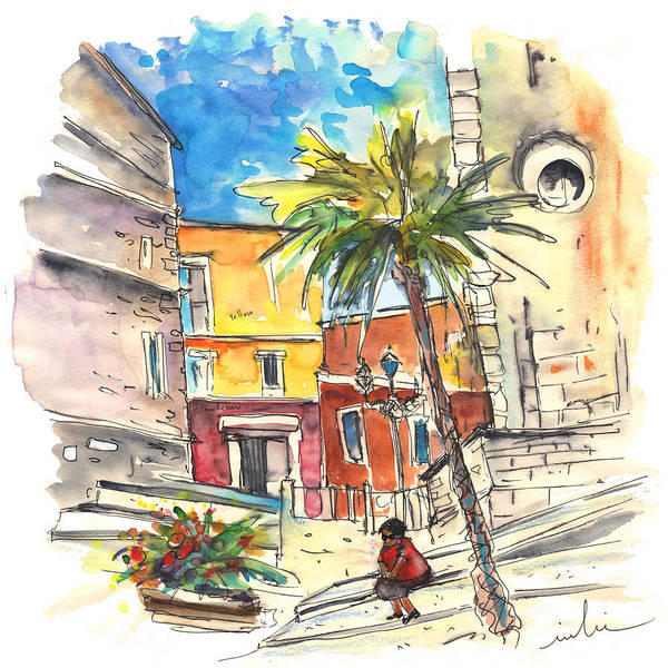 Wall Art - Painting - Cadiz Spain 05 by Miki De Goodaboom
