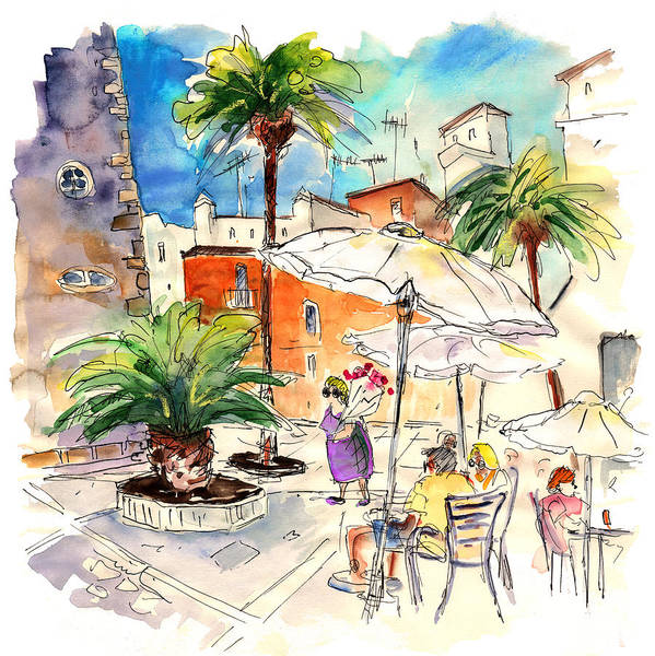 Wall Art - Painting - Cadiz Spain 13 by Miki De Goodaboom