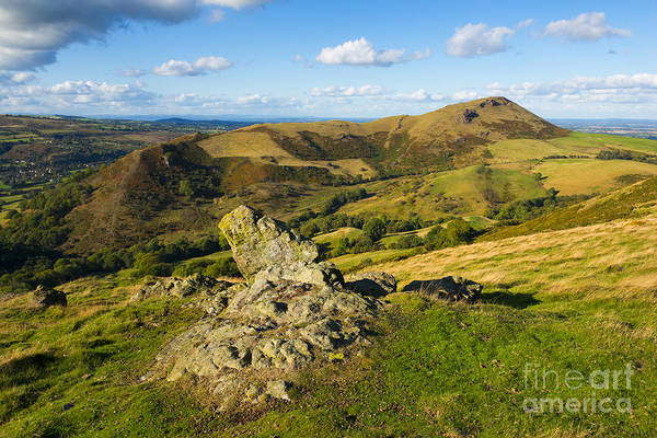 Church Stretton Wall Art - Photograph - Caer Caradoc by John Hayward