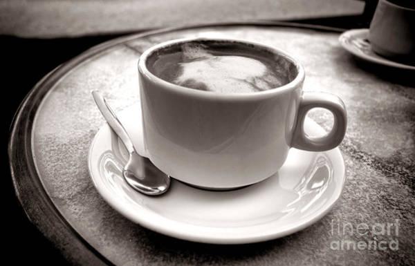 Photograph - Cafe Au Lait by Olivier Le Queinec