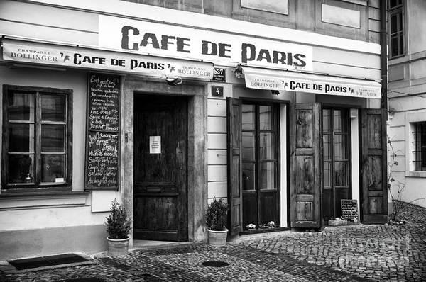 Wall Art - Photograph - Cafe De Paris by John Rizzuto