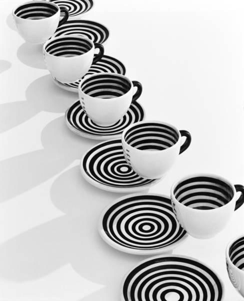 Furon Photograph - Cafe Destijl Coffee Cups by Daniel Furon