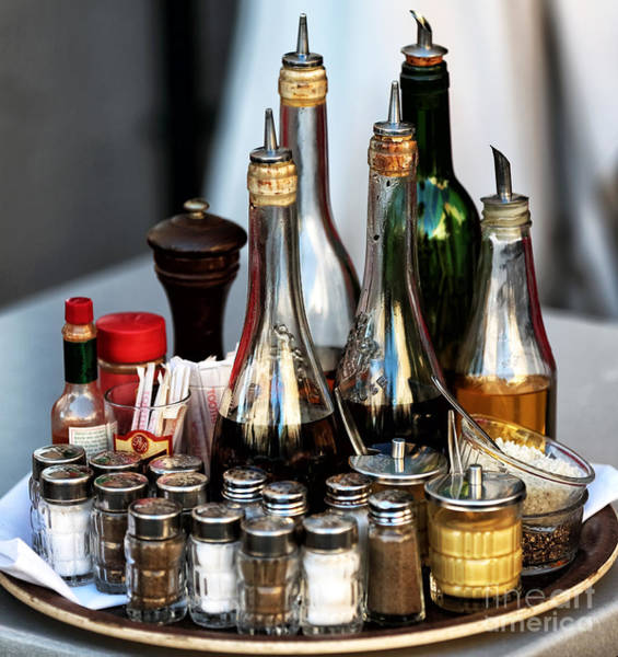 Photograph - Cafe Essentials by John Rizzuto