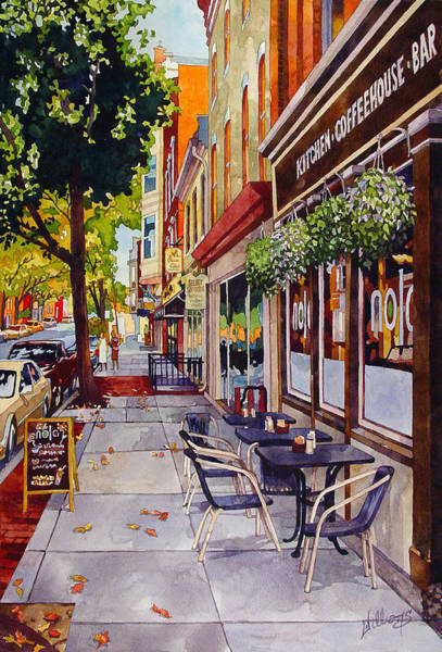 Cafe Nola Art Print