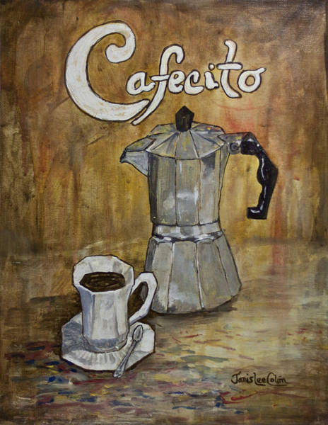 Painting - Cafecito by Janis Lee Colon