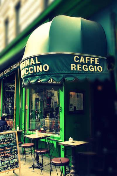 Photograph - Caffe Reggio by Jessica Jenney