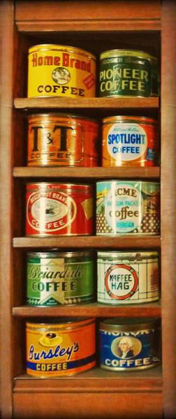 Caffe Retro No. 3 Art Print
