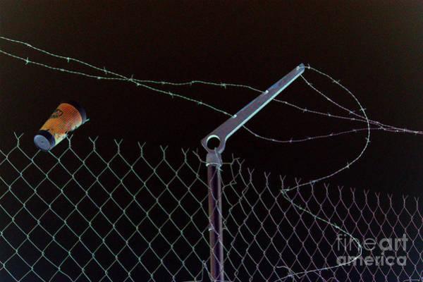 Wire Wrap Photograph - Caffeinated Jail Break by Joe Pratt