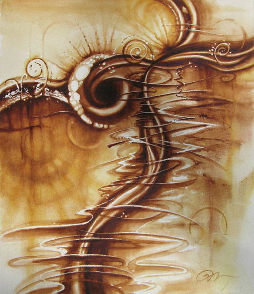Painting - Caffeine by Tracy Male