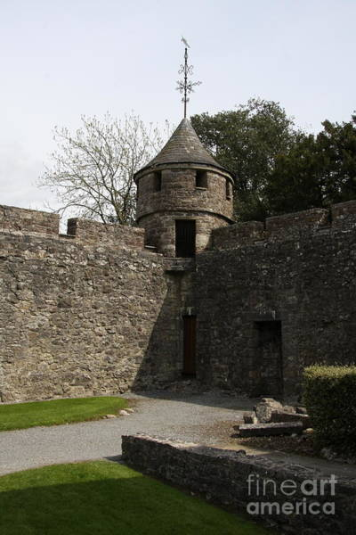 Suir Photograph - Cahir Castle Tower by Christiane Schulze Art And Photography