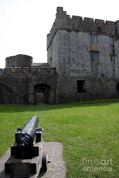 Suir Photograph - Cahir Castle Yard by Christiane Schulze Art And Photography