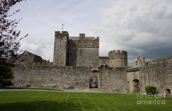 Suir Photograph - Cahir's Castle Second Courtyard by Christiane Schulze Art And Photography