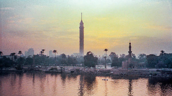 Photograph - Cairo And The Nile by Pete Hendley