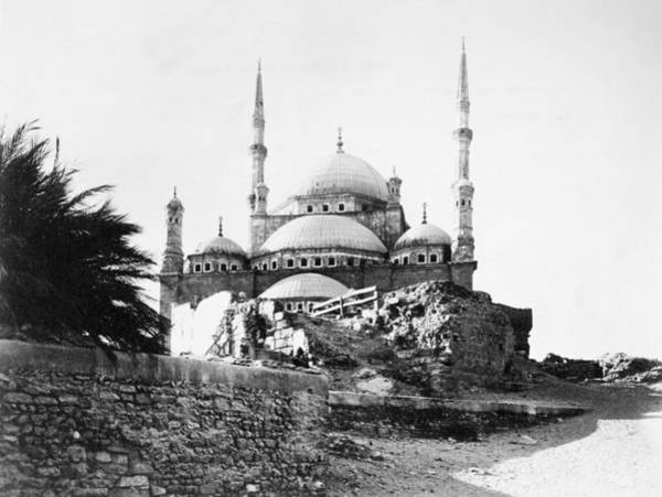 Alabaster Photograph - Cairo Mosque by Granger