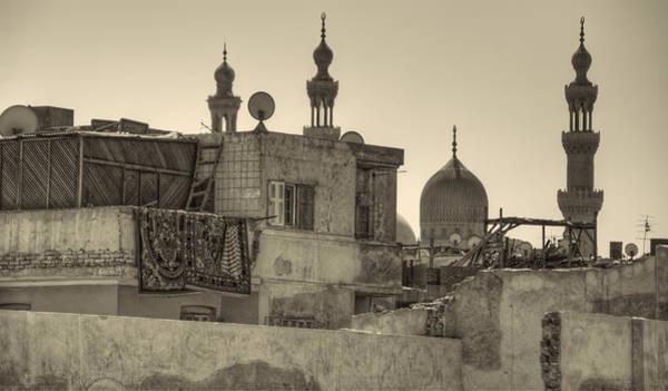 Photograph - Cairo Skyline II by Nigel Fletcher-Jones