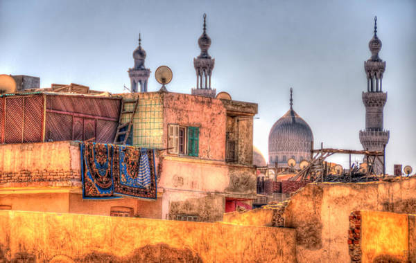 Photograph - Cairo Skyline by Nigel Fletcher-Jones