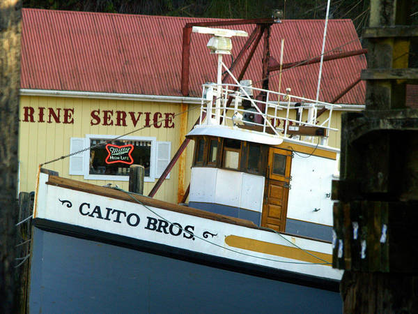 Fort Bragg Photograph - Caito Bros by Bill Gallagher