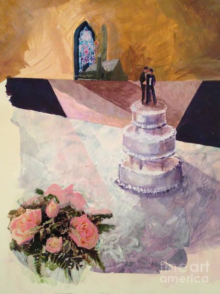 Wall Art - Painting - Cake by Ellen Moore Osborne