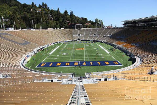 Photograph - Cal Golden Bears California Memorial Stadium Berkeley California 5d24682 by Wingsdomain Art and Photography