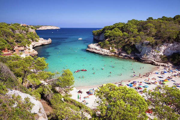 Beach Holiday Photograph - Cala Llombards by Dennis Fischer Photography