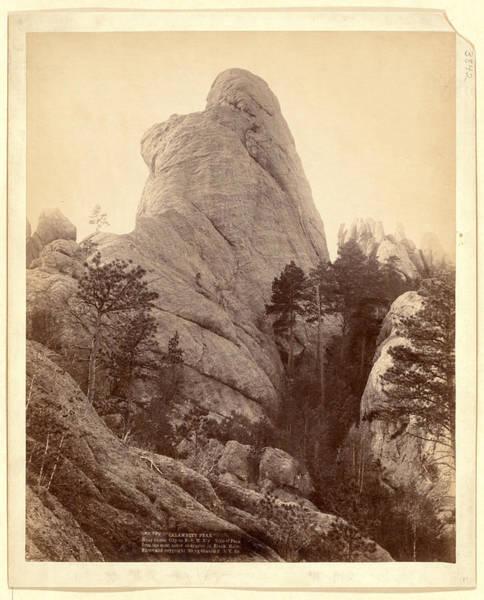 Wall Art - Photograph - Calamnity, Calamity Peak. Near Custer City On B. & M by Litz Collection