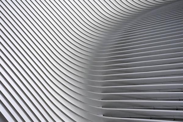 Santiago Wall Art - Photograph - Calatrava Curves # 2 by Linda Wride