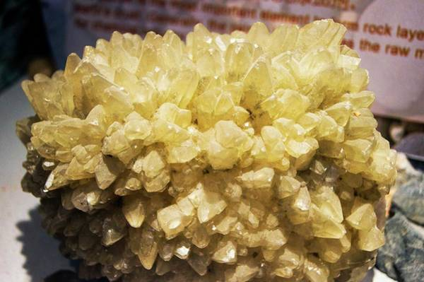 Carbonate Photograph - Calcite Crystals. by Mark Williamson/science Photo Library