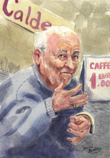 Painting - Calde Caffe by Mimi Boothby