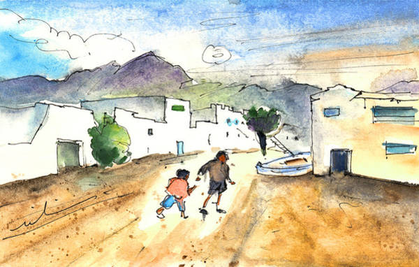Painting - Caleta De Famara 02 by Miki De Goodaboom