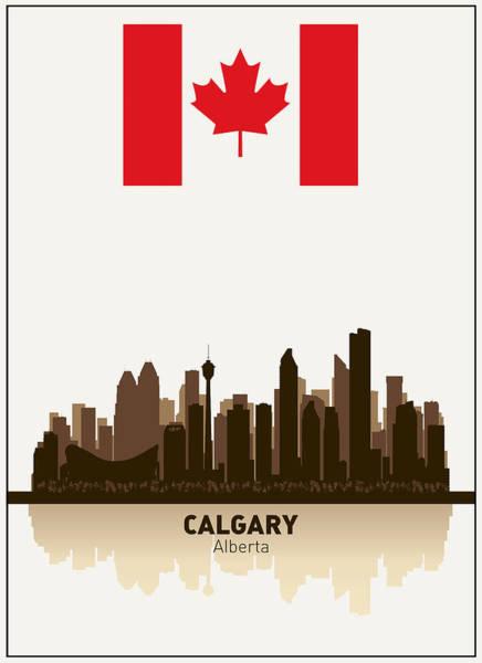 Wall Art - Digital Art - Calgary Alberta  Canada by Daniel Hagerman