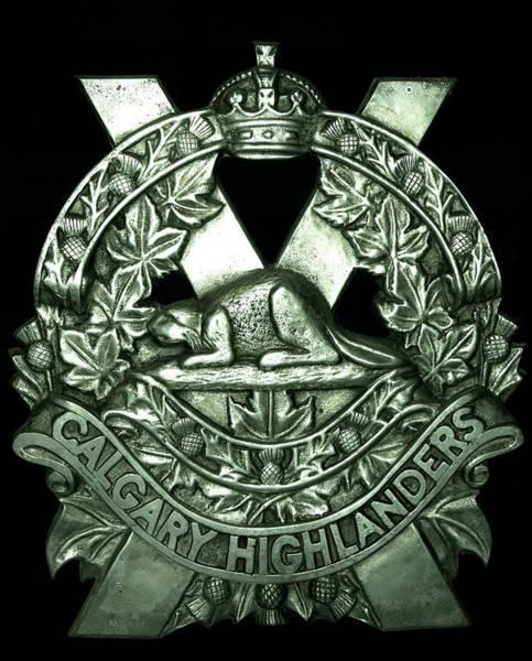 Photograph - Calgary Highlanders by Philip Rispin