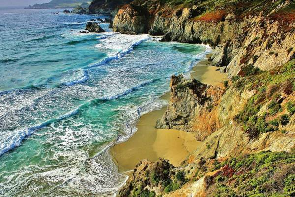 Carmel By The Sea Photograph - Californa Shore by Benjamin Yeager