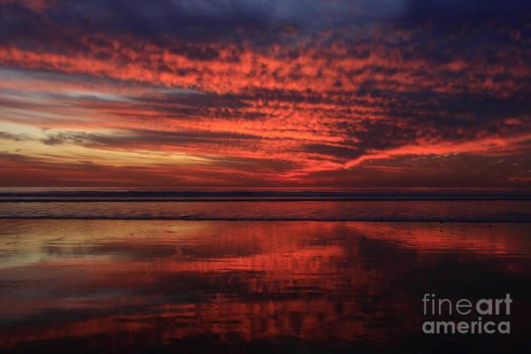 Photograph - Cardiff Afterglow  by John F Tsumas