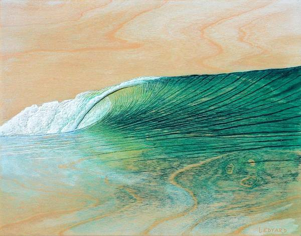 Carving Painting - California Afternoon by Nathan Ledyard