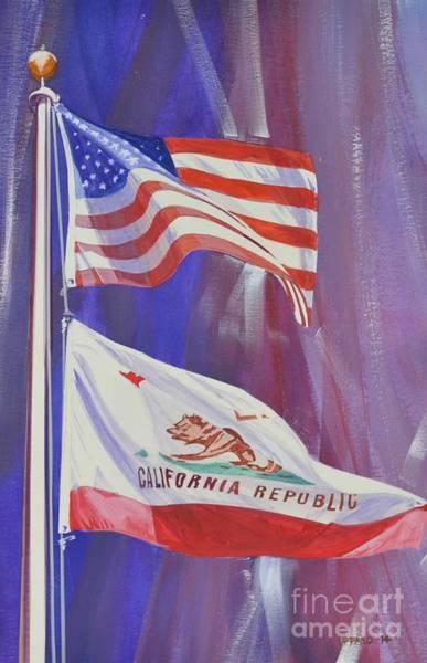Democrat Mixed Media - California Baby by Marco Ippaso