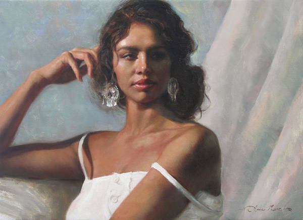 Beautiful Painting - California Beauty by Anna Rose Bain