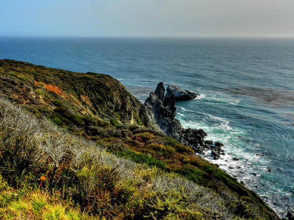 Photograph - California - Big Sur 005 by Lance Vaughn