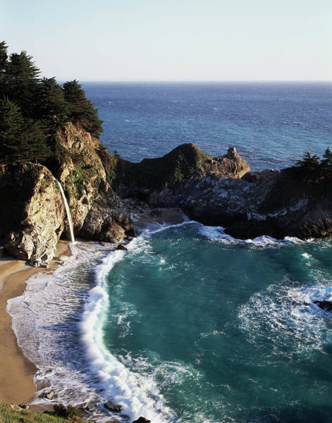 Backcountry Wall Art - Photograph - California, Big Sur Coast, Central by Christopher Talbot Frank