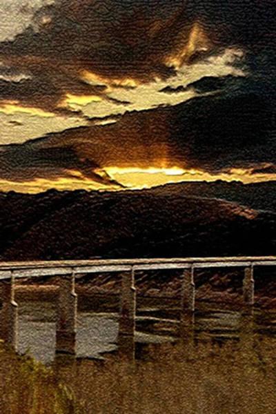 California Bridge Art Print