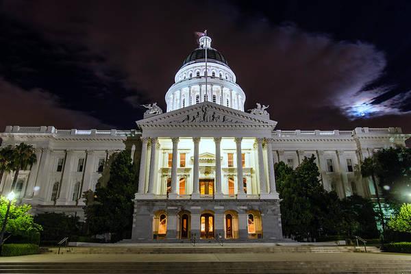California Capitol Art Print