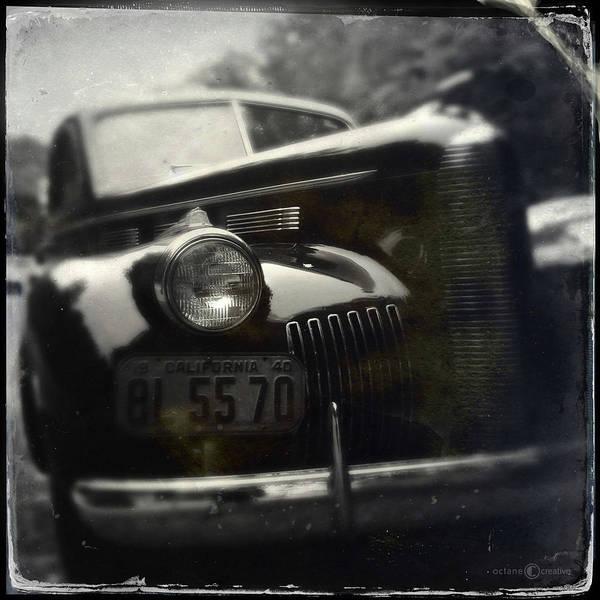 Photograph - California Car by Tim Nyberg