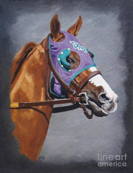 Wall Art - Painting - California Chrome W/nasal Strips by Pat DeLong