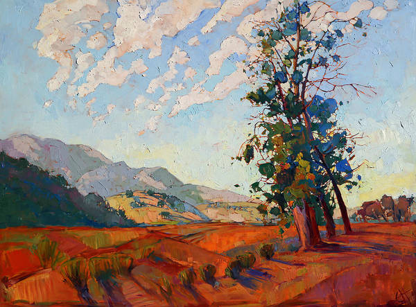 Wall Art - Painting - California Clouds by Erin Hanson